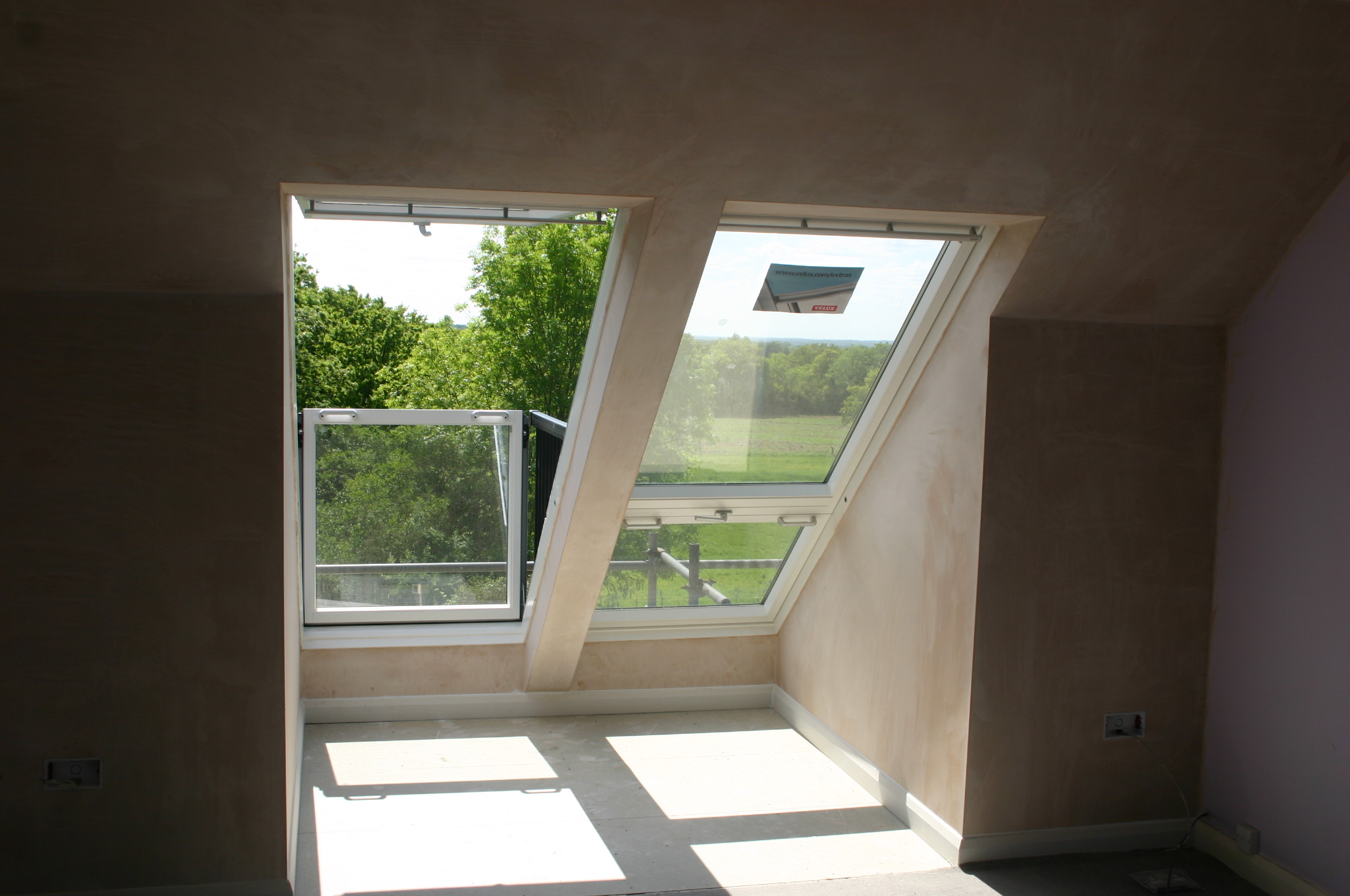 Velux cabrio balcony installers for Velux glass